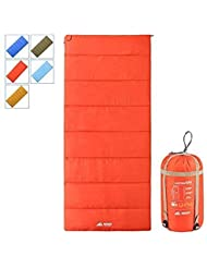 Semoo Sacos de Dormir rectangulares,2 Estaciones(Primavera y Verano), Impermeable, para Camping, Senderismo