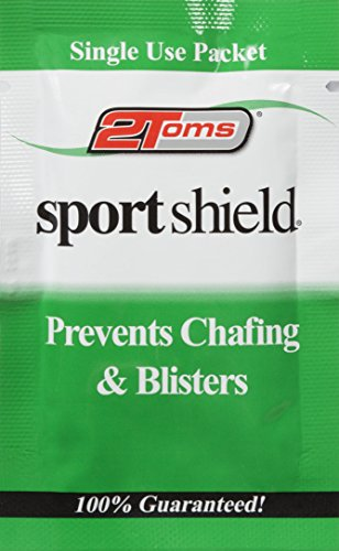 2Toms Sportshield Individual Shielding Wipes (Pack of 10) - White Test
