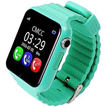 Storagc V7K Reloj Inteligente para niños GPS Tracker con cámara Facebook SOS Seguridad de Emergencia Anti