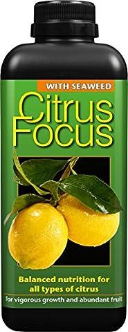 Citrus Focus Balanced Concentrated Liquid Fertiliser 1 Litre
