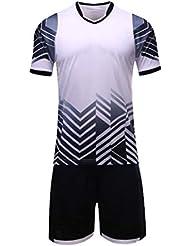 e3f3436ab3abc ZCFXJiTuanYZ Jerseys de Deportes al Aire Libre Uniformes de fútbol de Manga  Corta para niños Trajes