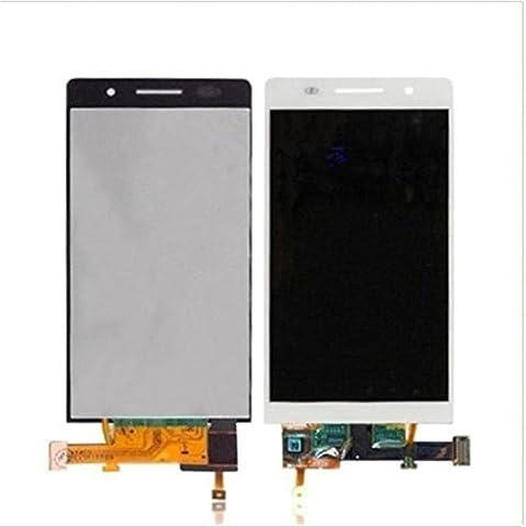 Huawei Ascend P6 Display im Komplettset LCD Ersatz Für Touchscreen Glas Reparatur (Weiß)