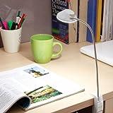 #1: Renata LED Gigalyte Clamp- Cool White Light - White