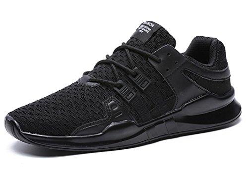 ONENICE Runners Turnschuhe Herren Damen Lightweight Laufschuhe Sportschuhe Flats Sneakers 9.5UK