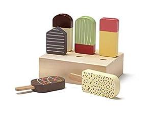 Kids Concept- Expositor de Polos Juguetes de Cocina Delantales y Guardapolvos Todos los demás Unisex, Multicolor (1000340)