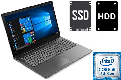 Notebook Lenovo V130-15IKB - Core i5-8250U - 8GB DDR4-RAM - 500GB SSD + 1000GB HDD - Windows 10 Pro - 39cm (15.6