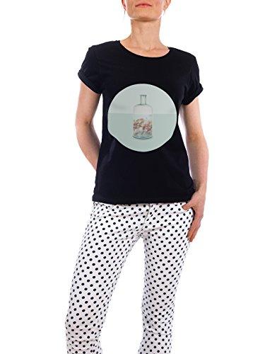 """Design T-Shirt Frauen Earth Positive """"Vasenaquarium"""" - stylisches Shirt Tiere Abstrakt Fiktion von Julia Bruch Schwarz"""