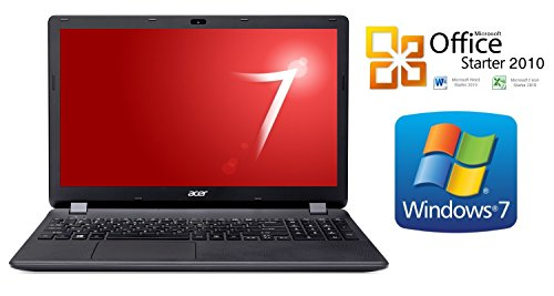 NOTEBOOK ACER 2519 ~ 1000GB ~ 8GB RAM ~ WINDOWS 7 PROF. ~ DVD-Brenner ~ 15.6 Zoll mattes Display (1000GB HDD)