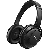 Mpow Active Noise Cancelling Headphones Mpow H8 Bluetooth 4.1 Over Ear Foldable Headphones 20 Hours Playtime Hand-free Calling for PC/ Cell Phones/ TV (Wired & Wireless Mode with Carrying Case)