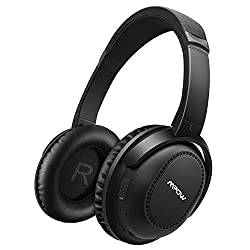 Mpow Active Noise Cancelling Headphones Mpow H8 Bluetooth 4.1 Over Ear Foldable Headphones 20 Hours Playtime Hand-free Calling For Pc Cell Phones Tv (Wired & Wireless Mode With Carrying Case)