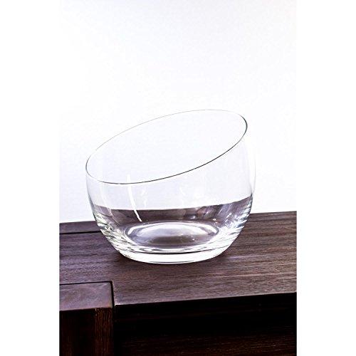 Fuente esférica de cristal KATE, transparente, 18 cm, Ø 21 cm -...