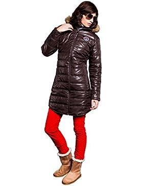 Nebulus Wintermantel Chamonix - Soft shell para mujer, color marrón, talla L