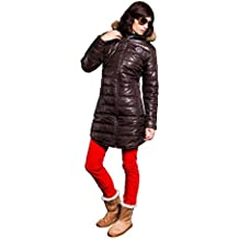 Nebulus Wintermantel Chamonix - Soft shell para mujer, color marrón, talla L