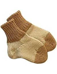 Calcetines de bebé, 100% lana de merino, de punto