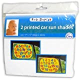 Pare-soleil voiture pour bébé x 2 - idéal pour voyage