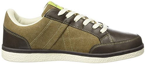 Kappa Floyd, Sneakers Basses Homme Marron (Brown/offwhite)