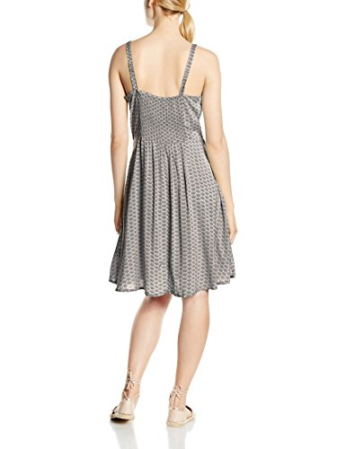 B. Young Ikitta dress, Vestito Senza Maniche Donna Grey (Opal Grey)
