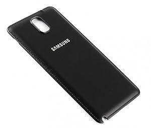 Original Samsung Galaxy Note 3 SM N9005 Akkudeckel Backcover Akku Deckel Akkufachdeckel Batterieabdeckung Rückseite Cover Black Schwarz - GH98-29019A