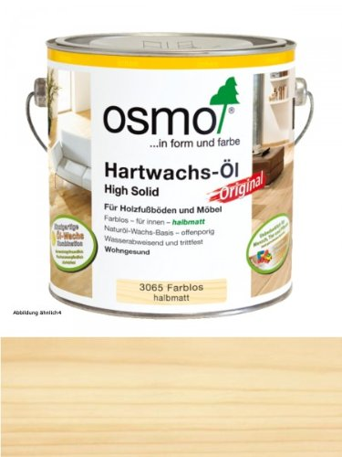 OSMO Hartwachsöl farblos halbmatt 3065 0,75l