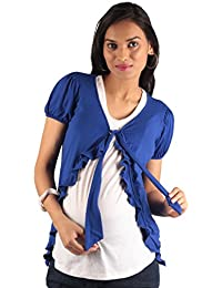 Morph Maternity - Blue Maternity Jacket / Maternity Wear / Pregnancy Wear