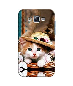 Sketchfab Cute Cat Latest Design High Quality Printed Soft Silicone Back Case Cover For Samsung Galaxy J5