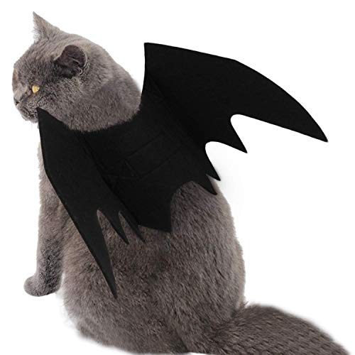Halloween Hund Katzen Haustier Welpen Dekoration, Batman Flügel -