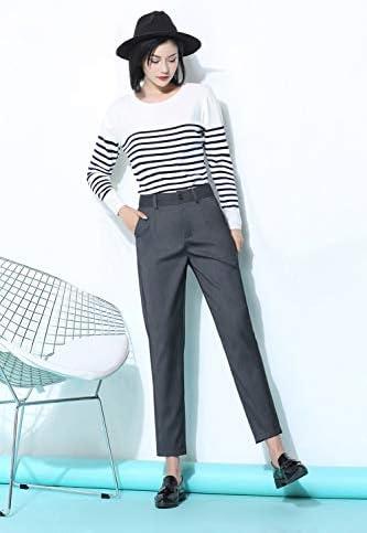 4638c9aa98 AKDYH Pantaloni da Donna Pantaloni da Lavoro Set Set Set da Lavoro Uniform  Styles Elegante Pantaloni ...