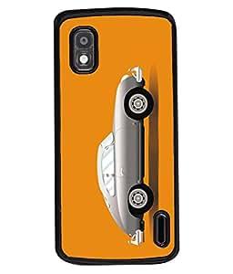Fuson Designer Back Case Cover for LG Google Nexus 4 E960 (trust me logo symbol physician )