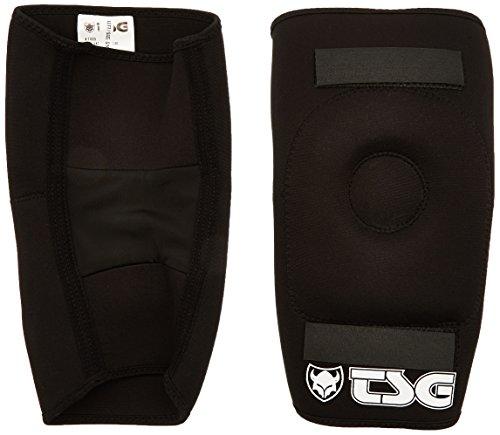 TSG Erwachsene Knieschützer Knee-Gasket Brace AD Knieschoner, black, L/XL