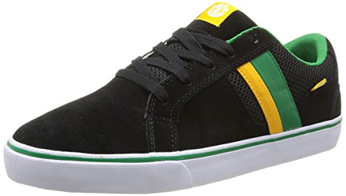 element-billings-3-scarpe-da-skateboard-uomo-nero-nero-nero-giallo-43