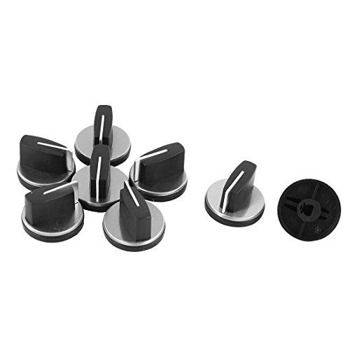 Preisvergleich Produktbild sourcingmap® 8Stk Küche Zubehör Gas Herd Drehschalter Kontrolle Bereich Knopf 4.2 cm Dmr.