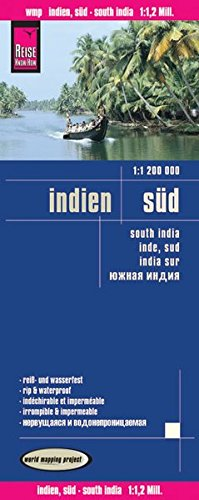 India Süd : 1/1 200 000 par Reise Know-How