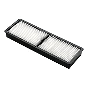 Epson ELPAF30 Projector Air Filter for Epson EB-D6155, D6250, G7000, G7200 and G7400, White/Black