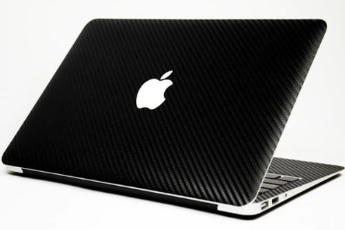 PINDIA 13 INCH MACBOOK PRO BLACK CARBON FIBER COVER
