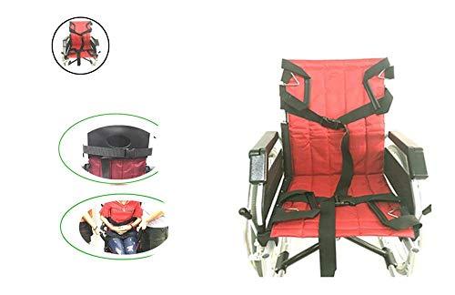 ZXC Patientenlifter Treppe Rutschbrett Transfer Not Evakuierungsstuhl Rollstuhlgurt Sicherheit Ganzkörper Hebeband Schiebe Transferscheibe Verwendung Für Senioren, Handicap (rot - 4 Griffe) - Für Transfer Rutschbrett Den