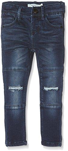 NAME IT Baby-Mädchen Jeans Nittammy Skinny Dnm Pant Nmt Noos, Blau (Dark Blue Denim), 104