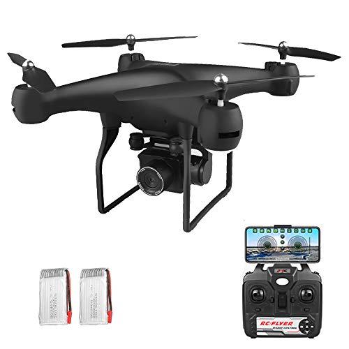 Goolsky F68 RC 4K Drohne mit Kamera Geste Foto Video Track Flug 3D Flip Höhe Halten 25 Minuten Flugzeit WiFi RC Quadcopter 2 Batterie