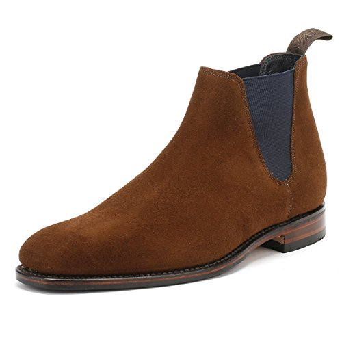 loake-hombres-marron-ante-cuero-caine-botas-uk-7