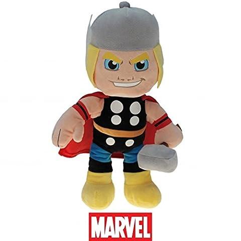 Marvel Super Helden, Super Heroes, The Avengers Plüsch Figuren 22cm zum Kinofilm - Auswahl! Spiderman, Ironman, Thor, Hulk oder Capt. Amerika (Thor) (Thor)