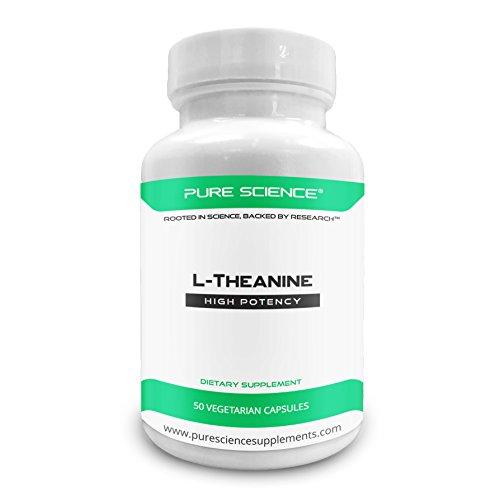 Pure Science L-Theanin 400mg - 50 vegetarische Kapseln -