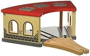 Hape- Cocheras de Tren Big Engine Shed (Barrutoys E3704)