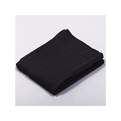 Drap House Taie d'oreiller Satin 65x65 - Couleur: Noir