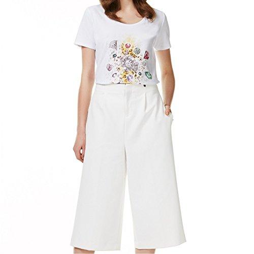 liu jo Damen T-Shirt Bianco