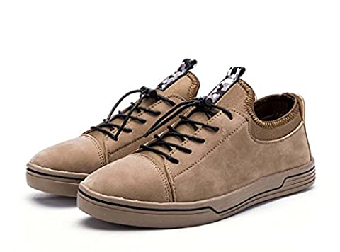 Männer Oxfords Freizeitschuhe, Herren Leder Loafers Herren Leder Oxford Classic Schuhe Herren Handgefertigte Leder Flache Schuhe Britische Stil Business Flat Cap-Toe Schuhe Für Männer ( Color : Brown , Size : 43 (Leder Oxford Cap)