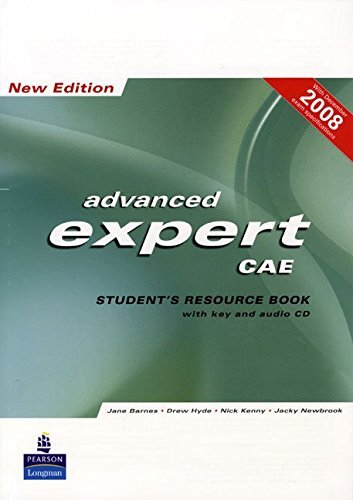 CAE Expert New Edition Students Resource Book with Key/CD Pack by Jane Barnes (2008-02-08)