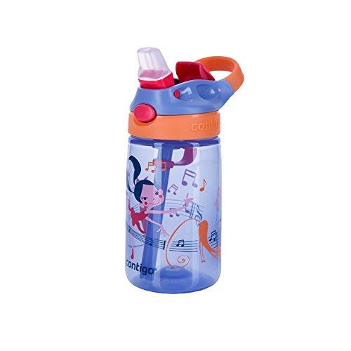 Contigo Kinder Gizmo Flip Kids Bottle, Wink W Dancer, 14 oz/420 ml