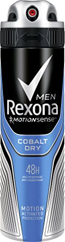 Rexona Uomini cobalto Set di 6 deodorante spray 150ml