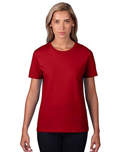 Leicht tailliertes Fashion Fit T-Shirt Heather Grey