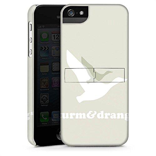 Apple iPhone X Silikon Hülle Case Schutzhülle Vogel Fliegen Sturm & Drang Premium Case StandUp