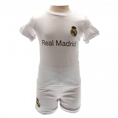pretty nice 5984f f24f4 Real Madrid FC Official Football Gift Baby Shirt & Short Set ...